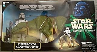 Star Wars Power of the Force 12 Inch Exclusive Dewback & Sandtrooper HUGE