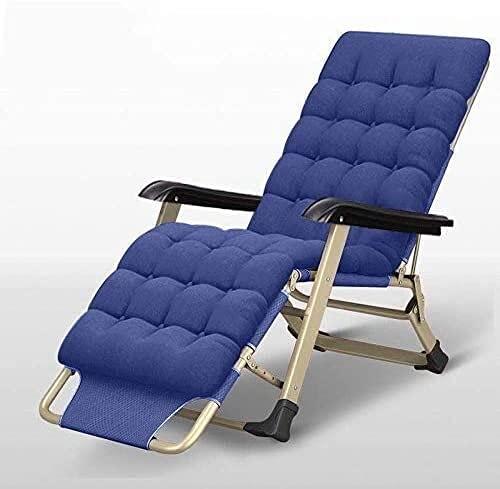 Tumbona para patio, tumbona de gravedad cero, silla reclinable para camping, silla de gravedad cero, reclinable al aire libre, reclinable extra ancho ajustable para terraza, jardín, playa, piscina