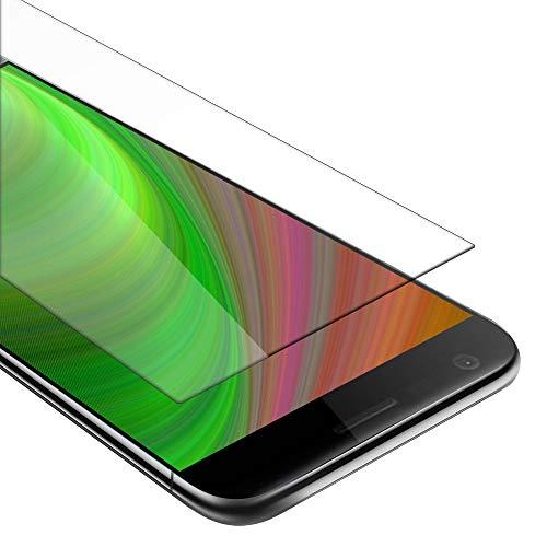 Cadorabo Película Protectora para LG G5 en Transparencia ELEVADA - Vidrio Templado (Tempered) Cristal Antibalas Compatible 3D con Dureza 9H