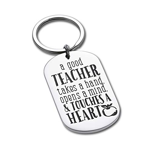 Teacher Appreciation Keychain Gift for Women Men - Teacher Keychain Teacher Jewelry Teacher Gifts,Thank You Gifts Christmas Birthday Graduation Gifts for Teacher Valentine�s Day Gift