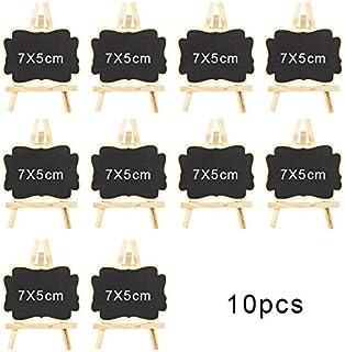 Un segnaposto per Il Segno della Decorazione di Nozze I cartellini dei Prezzi visualizzano Una bacheca di 20 Pezzi Una Lavagna per Decorazioni per Feste a Parola