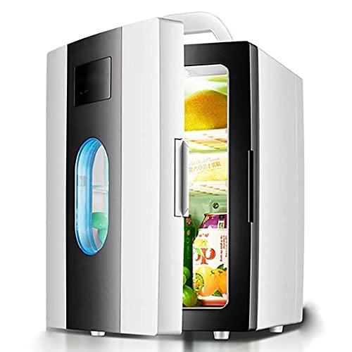 H.Slay Mini frigorífico SHKUU, Calentador termoeléctrico portátil, frigorífico Personal, para el hogar, la Oficina, Dormitorio, Dormitorio, Coche y Exterior