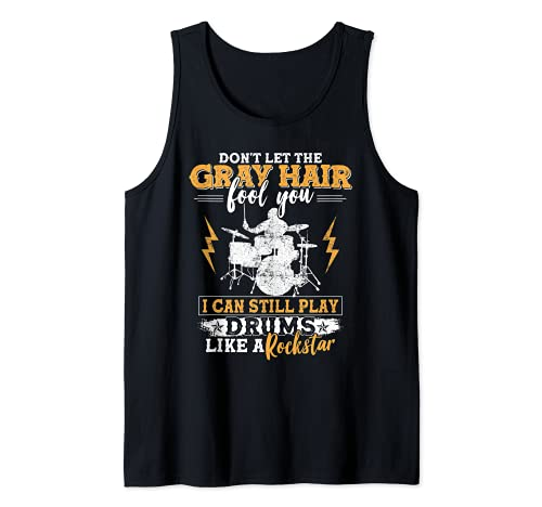Drummer Drumset Drum Player Drums Percussionist Tank Top