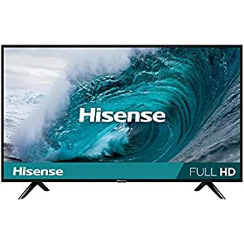 "Hisense 40H5F Smart TV 40\"", 1080p, Built-in Wi-Fi, 2019, Color Negro"