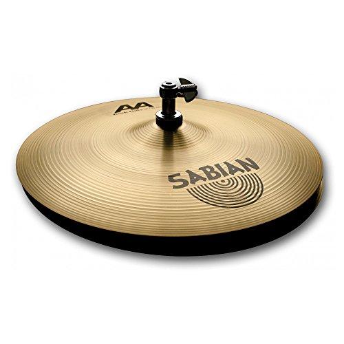 "Price comparison product image Sabian AA 14"" Rock Hi-Hat Cymbals,  Brilliant Finish"