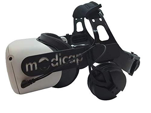 modicap Black Edition Q2 with Sound para Oculus 2