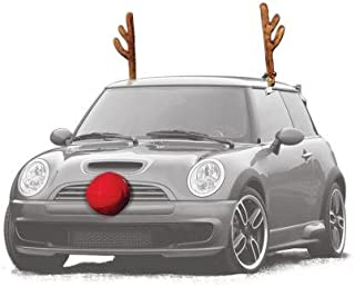 Reindeer Car Kit - Turn Your Car into a Reindeer!