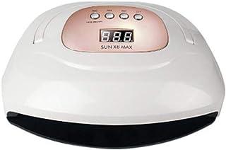 Lámpara LED UV para uñas, 150W LED Lámpara de curado UV para uñas con 4 temporizadores/Cuentas LED/Mango portátil, Para gel UV/Constructor UV/Esmalte de uñas en gel, Transporte conveniente