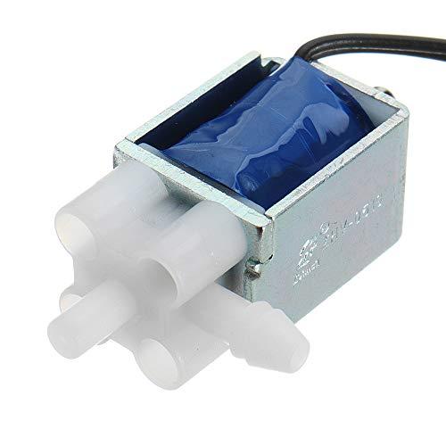 ILS - Dos bits Tres vías Escape válvula solenoide válvula Control electrónico válvula ventilación Pequeño DC 5V DC6V