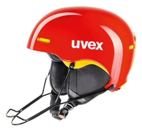 Skihelm Uvex hlmt 5 race Modell 2014 in div, rot - Chilired/Yellow, 59-62 cm