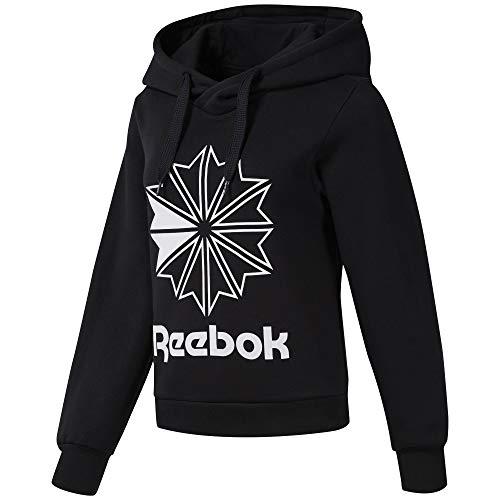Reebok - Sudadera Cl FL Big Logo Hoodie - EB5135