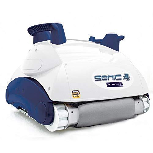 Astralpool Robot limpiador electrónico automático para limpieza de fondo de piscina Sonic...