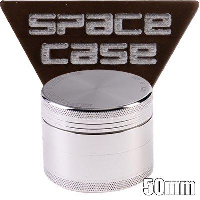 ALUMINIUM Anodisé SPACE CASE 60mm 4 Parties GRINDER POLINATOR MAGNET