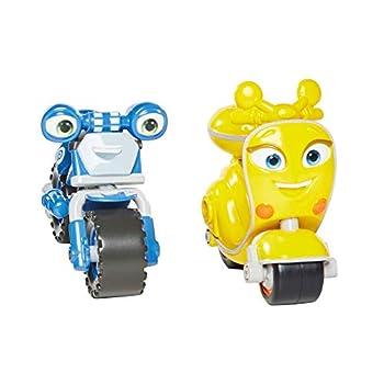 Ricky Zoom Loop & Scootio Motorcycle Toys  Set of 2  Multi