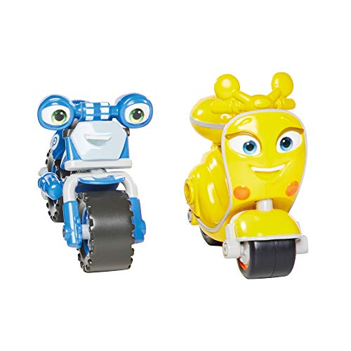 Ricky Zoom Loop & Scootio Motorcycle Toys (Set of 2), Multi
