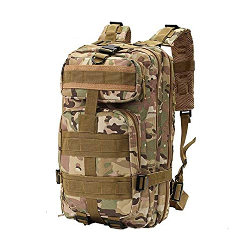 Outdoor Tactical Military Backpack 1000D Nylon 30L Waterproof Sports Camping Hiking Hunting Bags camouflage 30-40L