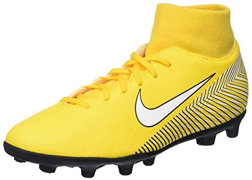 Nike Superfly 6 Club NJR FG/MG, Zapatillas de Fútbol Unisex Adulto, Amarillo (Amarillo/White/Black 710), 43 EU