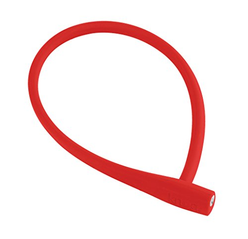 KNOG Party Frank Cable Lock, Red