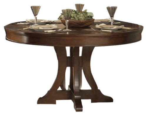 Big Sale Best Cheap Deals Homelegance Avalon Round Dining Room Table, Brown Cherry