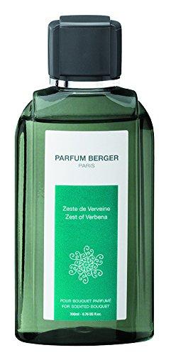 PARFUM BERGER Nachfüllpackung für Bouquet Duft Orange-Zimt transparent 200ml, durchsichtig, 6031 Recharge Pour Bouquet Parfum ZESTE DE VERVEINE TRANSPARENT 200 ML