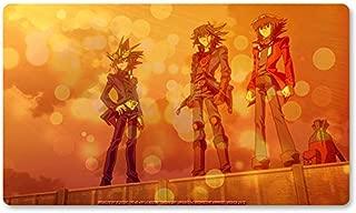 G.O.L.D - Board Game Yugioh Playmat Games Table Mat Size 60X35 cm Mousepad MTG Play Mat for Yu-Gi-Oh! Pokemon Magic The Gathering