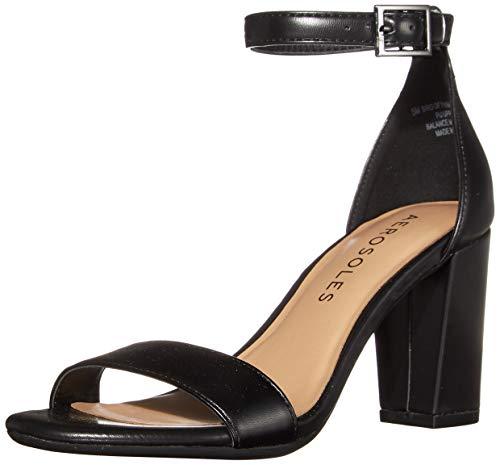 Aerosoles Women's Dress, Heel, Sandal Pump, Black, 9.5