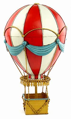 BINGBINGLIANG Decoración Escultura Adornos En El Modelo De Globo De Fuego del Siglo XIX, Muebles para El Hogar, Bar, Restaurante, Accesorios De Decoración, Decoración Creativa, Rojo