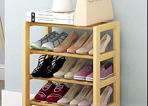 N/Z Equipo para el hogar Zapatero de Madera Maciza Hogar Zapatero pequeño Simple Estante para Zapatos para Polvo Estante de Almacenamiento Taburete para Cambiar Zapatos (Color: Blanco Tamaño: 82)