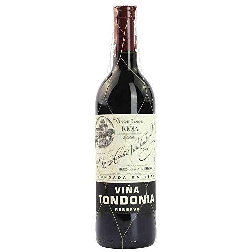Vina Tondonia Reserva tinto 2006 Rioja Reserva DO Rotwein trocken Lopez de Heredia Vina Tondonia Spanien 750ml-Fl (50,40€/L)