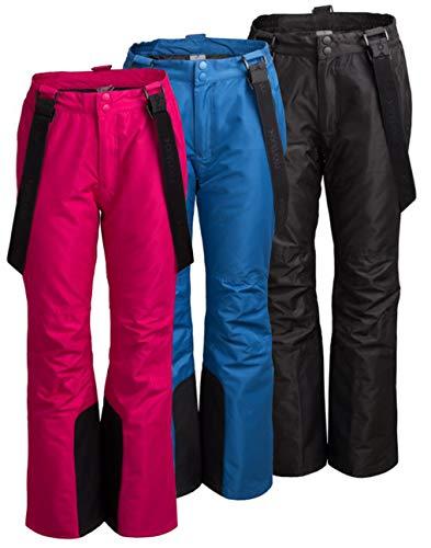 Outhorn SPDN600 Skibroek voor dames, waterdichte snowboardbroek, met randbescherming, afneembare bretels