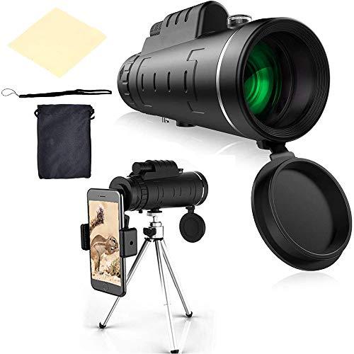 SSyang HD Cell Phone Lens,40x60 Telescopio Monocular con...