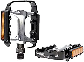MOHEGIA Bike Pedals,MTB Flat Bicycle Pedal Sets,9/16 Non-Slip Aluminum Replacement for Mountain BMX MTB-Pair