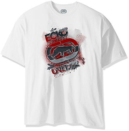 Ecko Unltd. Men's Quiet Killin It Tee Shirt, White, X-Large