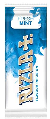Rizla Poshliquid Infusions-Karten, frische Minze, Box mit 25 Packungen