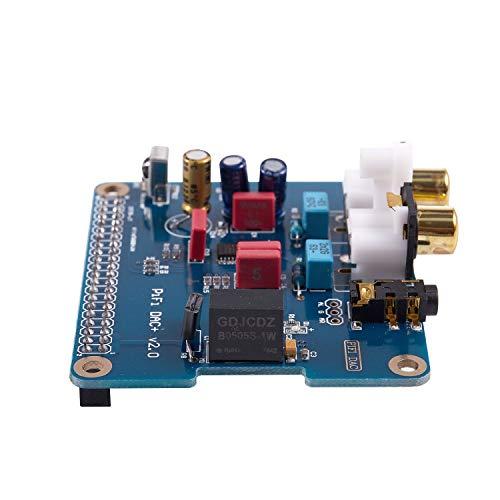 Andifany Pifi digi Dac HiFi Scheda Audio Dac Modulo Scheda Audio Interfaccia I2S per Raspberry Pi 3 2 Modello B B Scheda Audio Digitale Pinboard V2.0 Scheda Sc08