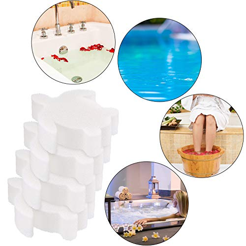Chuangdi 24 Pieces Oil Absorbing Scum Sponge for Hot Tub, Swimming Pool and Spa (Turtle)