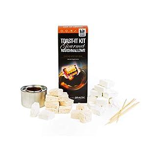 belinda clark gourmet marshmallows - marshmallow toasting kit - includes burner skewers and 2 x 85g bags (salted caramel and vanilla) Belinda Clark Gourmet Marshmallows – Marshmallow Toasting Kit – Includes Burner Skewers and 2 x 85g Bags (Salted Caramel… 41rBGTS wHL