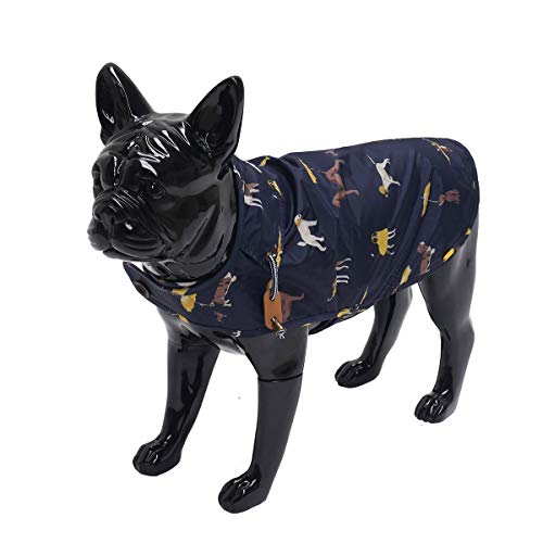 Joules hondenjas regenjas navy 35 CM
