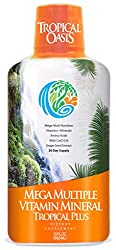 Tropical Oasis Mega Plus - Liquid Multivitamin and Mineral Supplement