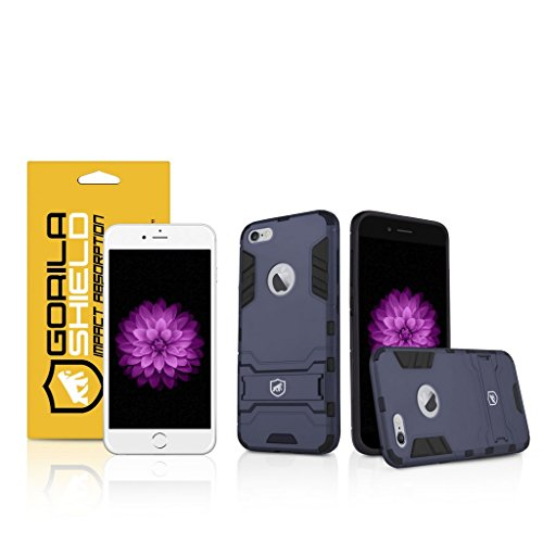 Kit Capa Armor e Película de Vidro Dupla Iphone 6 Plus, 6s Plus - Gshield