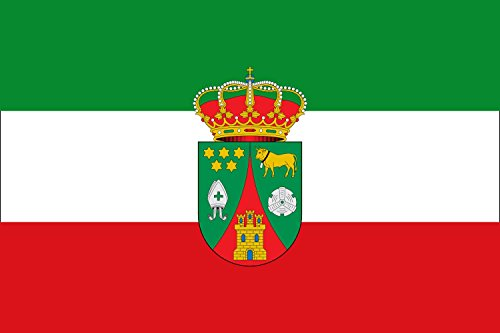 magFlags Bandera Large Revilla del Campo, Burgos, España | Bandera Paisaje | 1.35m² | 90x150cm