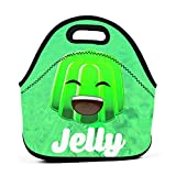 Yuanmeiju bolsa del almuerzo Jelly Logo Panier repass For Women Insulated Reusable bolsa del almuerzo Cooler Tote Box Meal Prep For Men & Women Work Picnic Or Travel