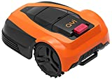 AYI DRM3-600i Robot Lawnmower - Cuts Up to 600 ㎡ Lawn Area, Full APP Control, Big LCD Display, Safety Sensors, 25-55mm Cutting Height, Quiet Mowing Anti-Theft Pin Code