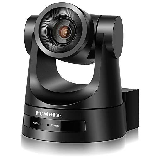 FoMaKo - Cámara de videoconferencia, 20 x Zoom SDI HDMI PTZ, cámara Full HD 1080p, cámara de videoconferencia, Webcam, videoconferencia FMK20SDI