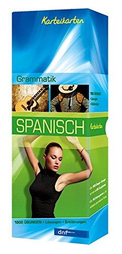Karteikarten Grammatik Spanisch