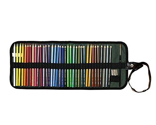 KOH-I-NOOR Juego de 36 lápices de acuarela con pincel en cinturón verde Mondeluz acuarela lápices de colores