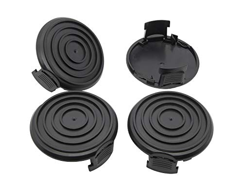 BOOTOP WA0037 Spool Cap Cover, Replacement Spool Caps Compatible with Worx WG184 WG168 WG190 WG191 Electric String Trimmers, WG184 Spool Cap, Weed Eater Spool Cap for Worx (4 Pack)