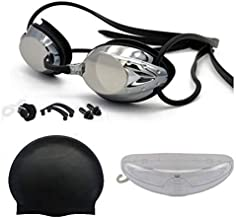 Gafas de Natación Negra. Antivaho. Resistentes Gafas para