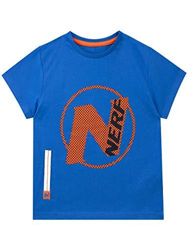 NERF Jungen T-Shirt Blau 146