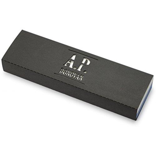 A.P. Donovan - Abziehstein doppelseitig - Schleifstein für Rasiermesser zum schärfen - mit einer Körnung von 4000/1200 - MISSARKA®